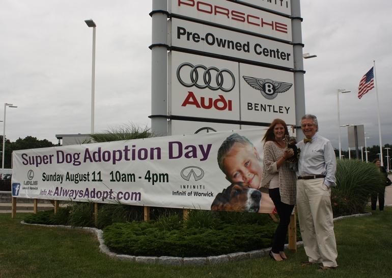 Super Dog Adoption Day Schmitty The Weather Dog