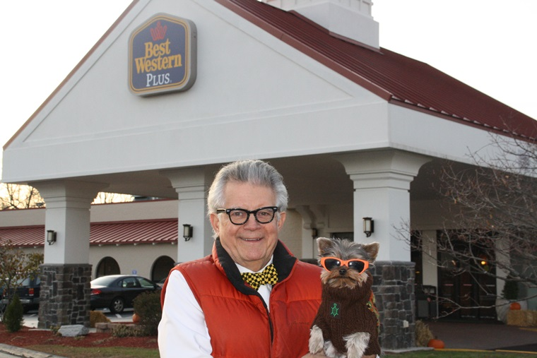 A four paws up for the Best Western Plus in North Haven, CT!
