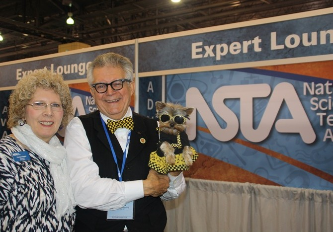 Carolyn Hayes, top dog & NSTA President; joins us for some NSTA fun!