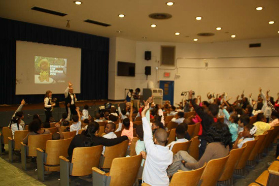 STEM Assembly at PS 76 in Harlem