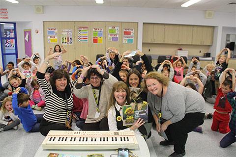 Schmitty at Wenoah Elementary School